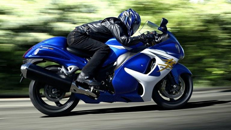 Mit 297 km/h Spitze eines der schnellsten Motorräder der Welt.