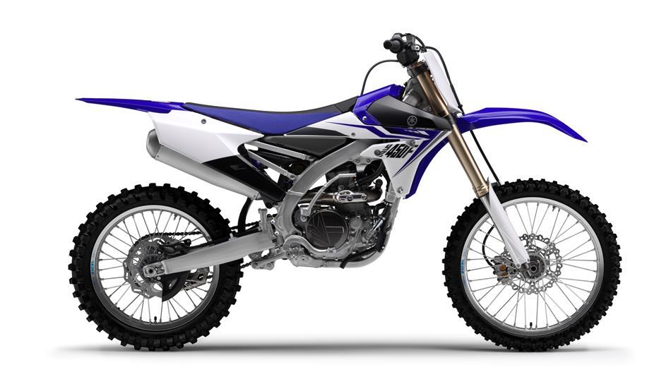 Die Yamaha YZ 450 F