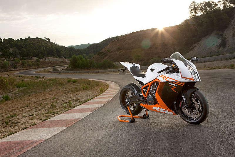 Edel und stylish wirkt die KTM 1190 RC 8R
