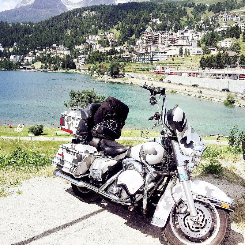 Motorradtour über den St. Bernhard