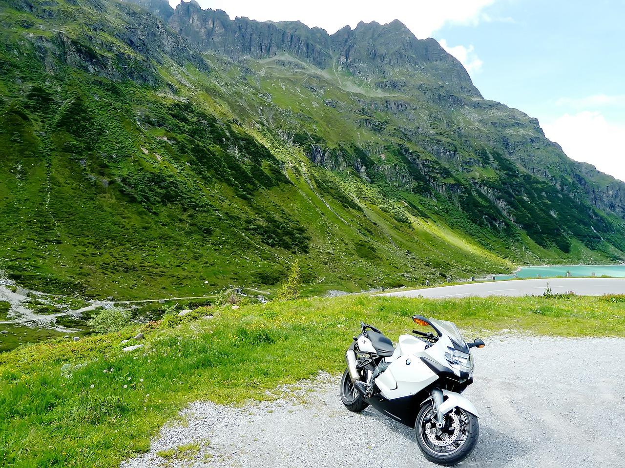 Mit dem Motorrad hoch hinaus: Ausflugsziele in den Bergen