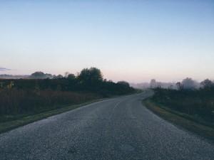 einfahren nebel