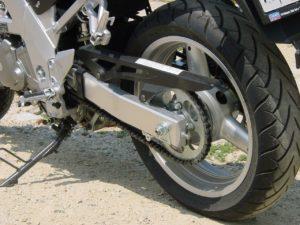Pflege für den Motorradreifen