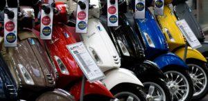 motorräder in europa vespa
