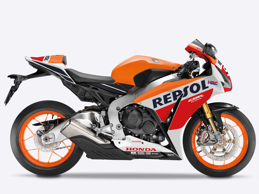 Supersportler Honda Fireblade SP