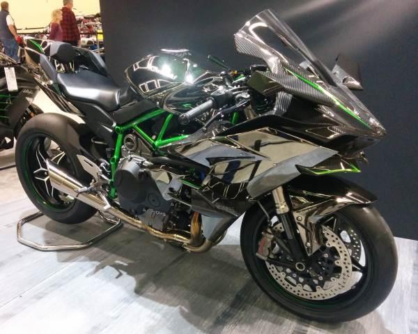 600 oder 1000cc - Kawasaki Ninja H2R