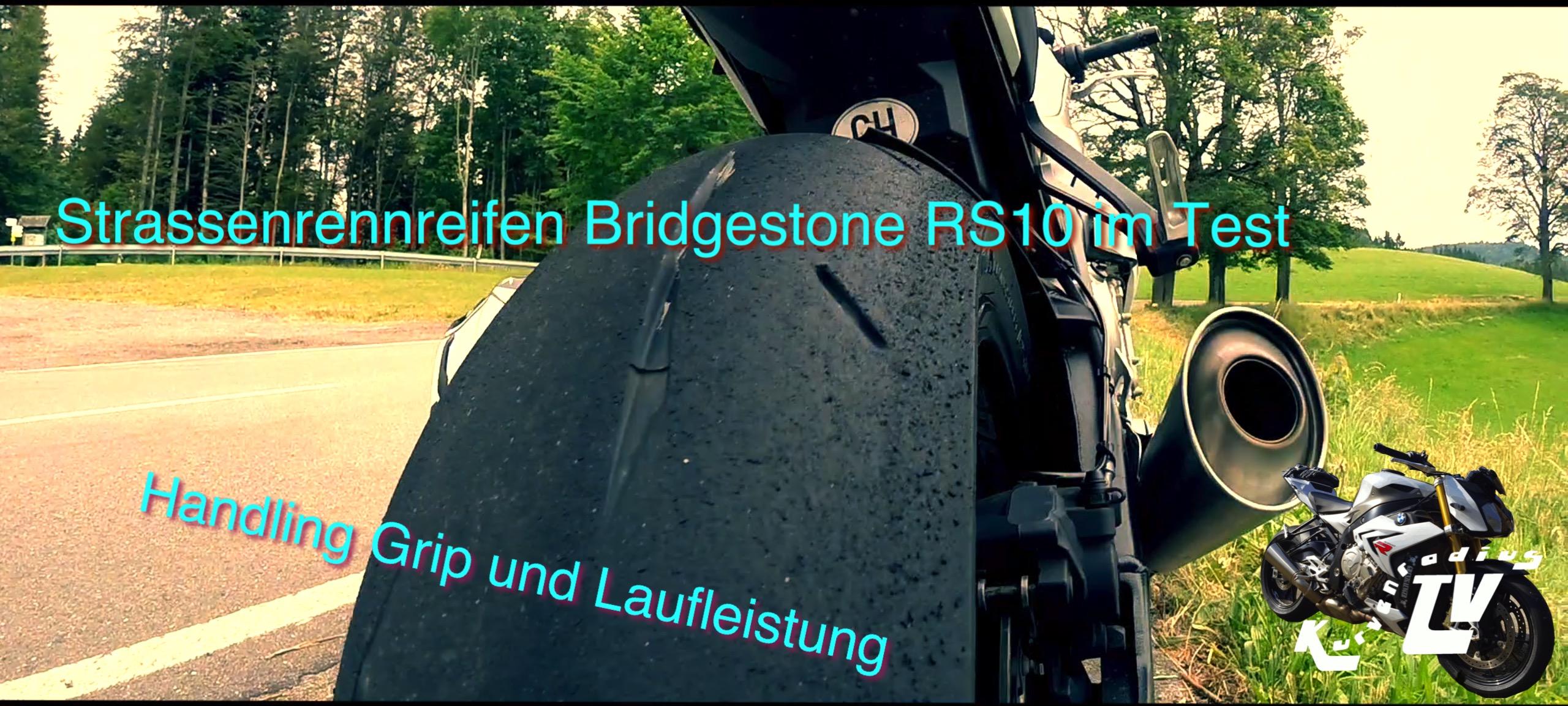 Strassenrennreifen Bridgestone RS10 Test Teil 2 | Handling Grip Laufleistung | KurvenradiusTV