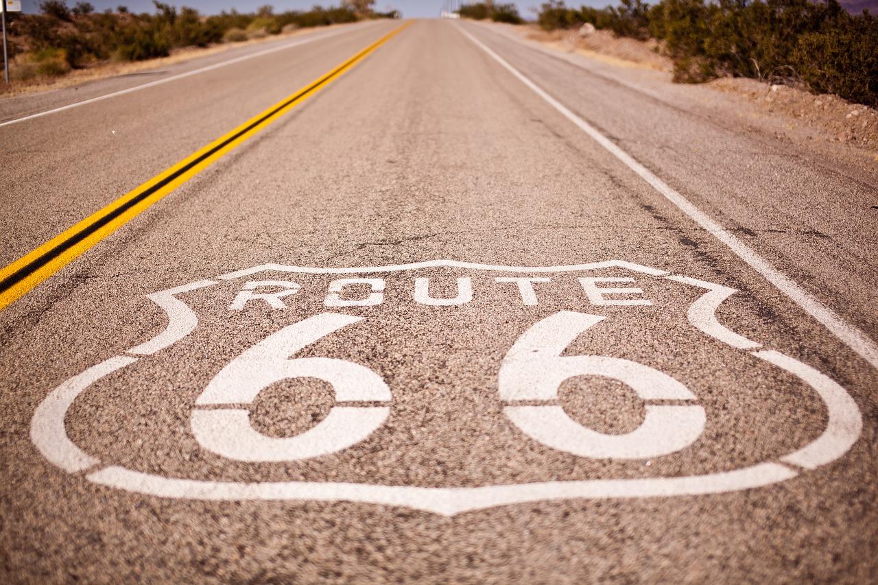 harley-davidson-auf-der-route-66