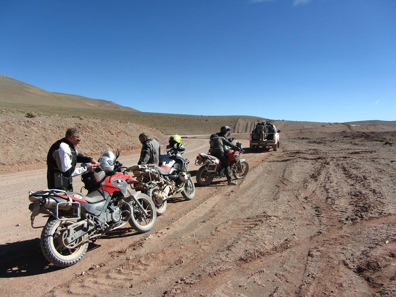 Mit dem Motorrad in Südamerika
