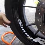 Vulcanet Reinigungstücher Test | Motorrad Felge reinigen 1080P | KurvenradiusTV