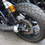 Was sagt der Hinterreifen des Motorrads über dein Fahrverhalten aus?