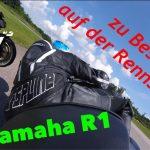 zu Besuch auf der Rennstrecke Yamaha R1 | 1080P | KurvenradiusTV